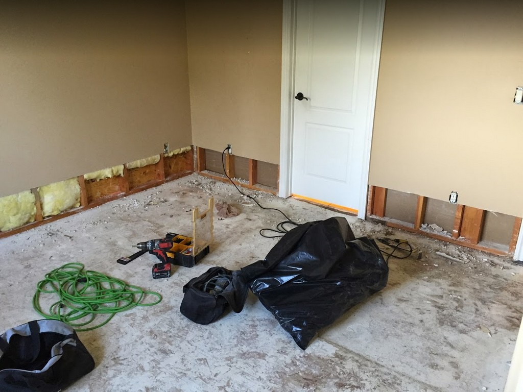 Cleanup After Dehumidification - Mission Water Damage Restoration - San Diego, CA